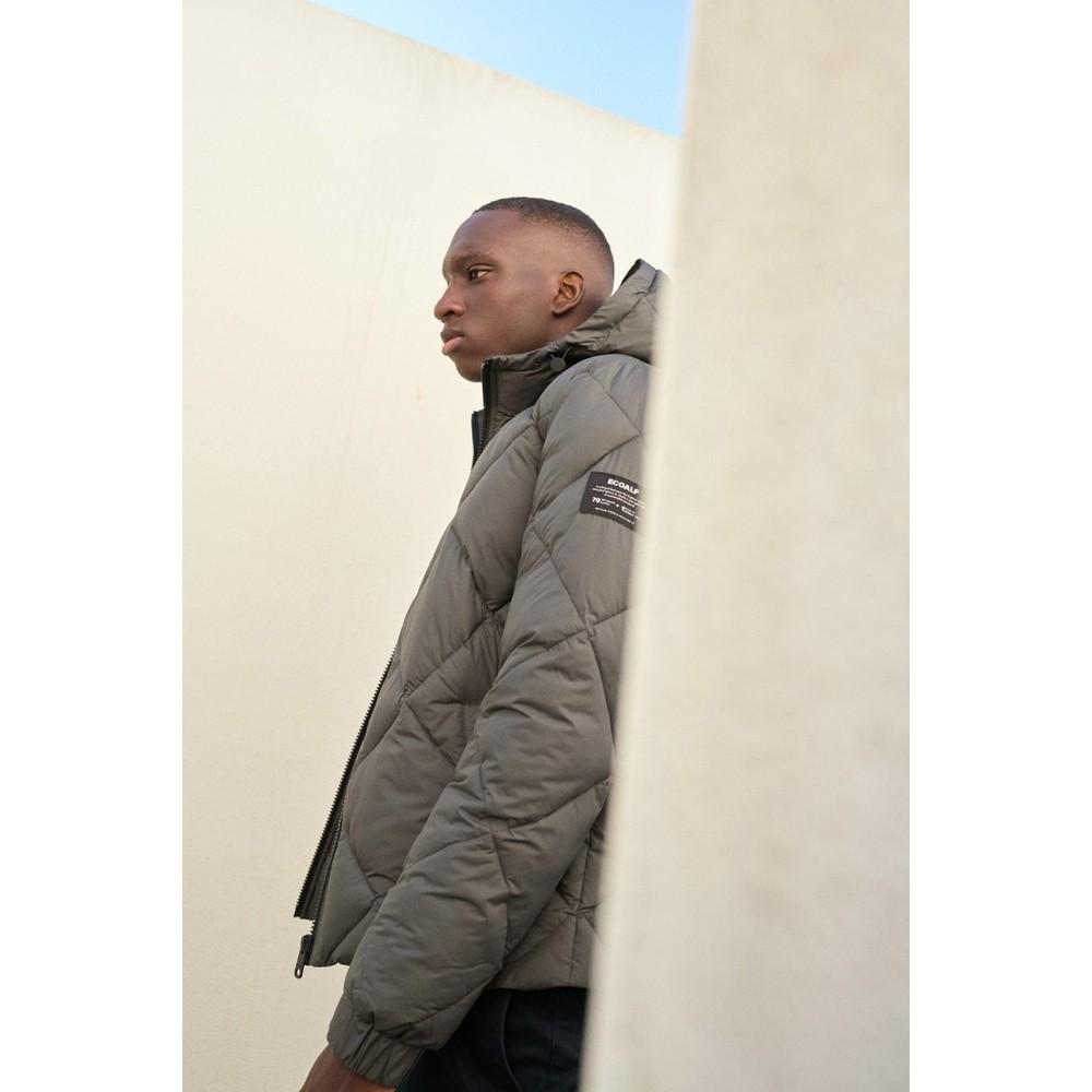 Ecoalf Bredalf Jacket Dark Khaki