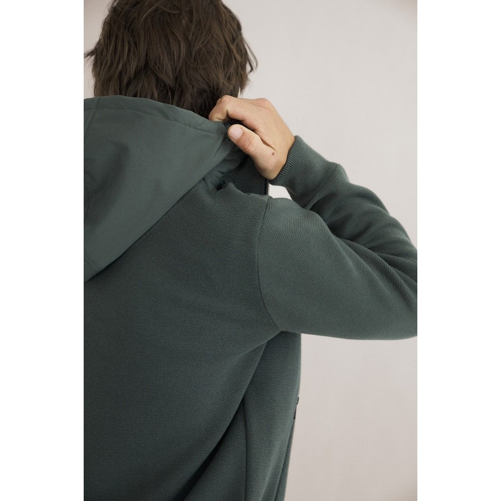 Ecoalf Illescalf Hooded Jacket Khaki