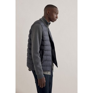 Ecoalf Sonsecalf Puff/Knit Jacket Dark Grey Melange