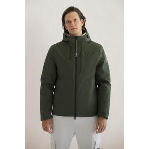 Ecoalf Katmanalf Hooded Jacket Khaki