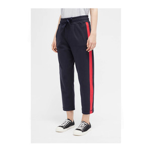 Side Panel Track Pants Navy