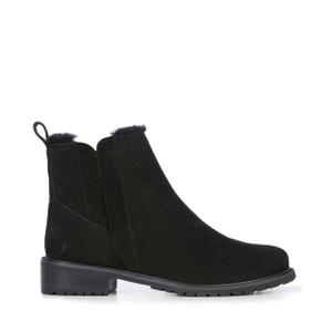 Pioneer Leather Boot Black