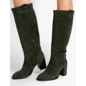 Penelope Chilvers Stevie Suede Boot Forest Green