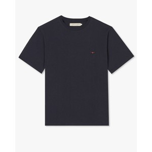 Parson T Shirt Navy/Chestnut