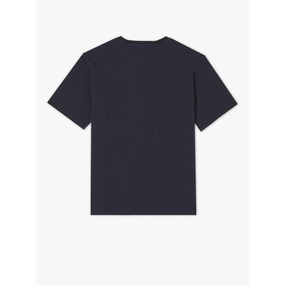 R.M.Williams Parson T Shirt Navy/Chestnut