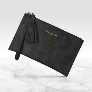 Salthouse Serafina Clutch Bag in Beautiful Black