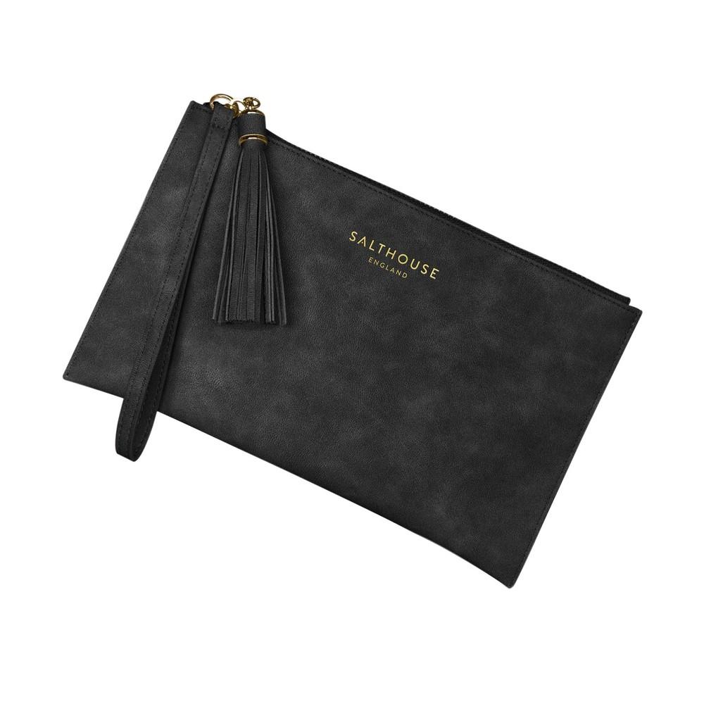 Salthouse Serafina Clutch Bag Beautiful Black