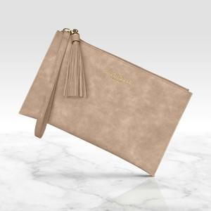 Salthouse Serafina Clutch Bag in Naughty Nude