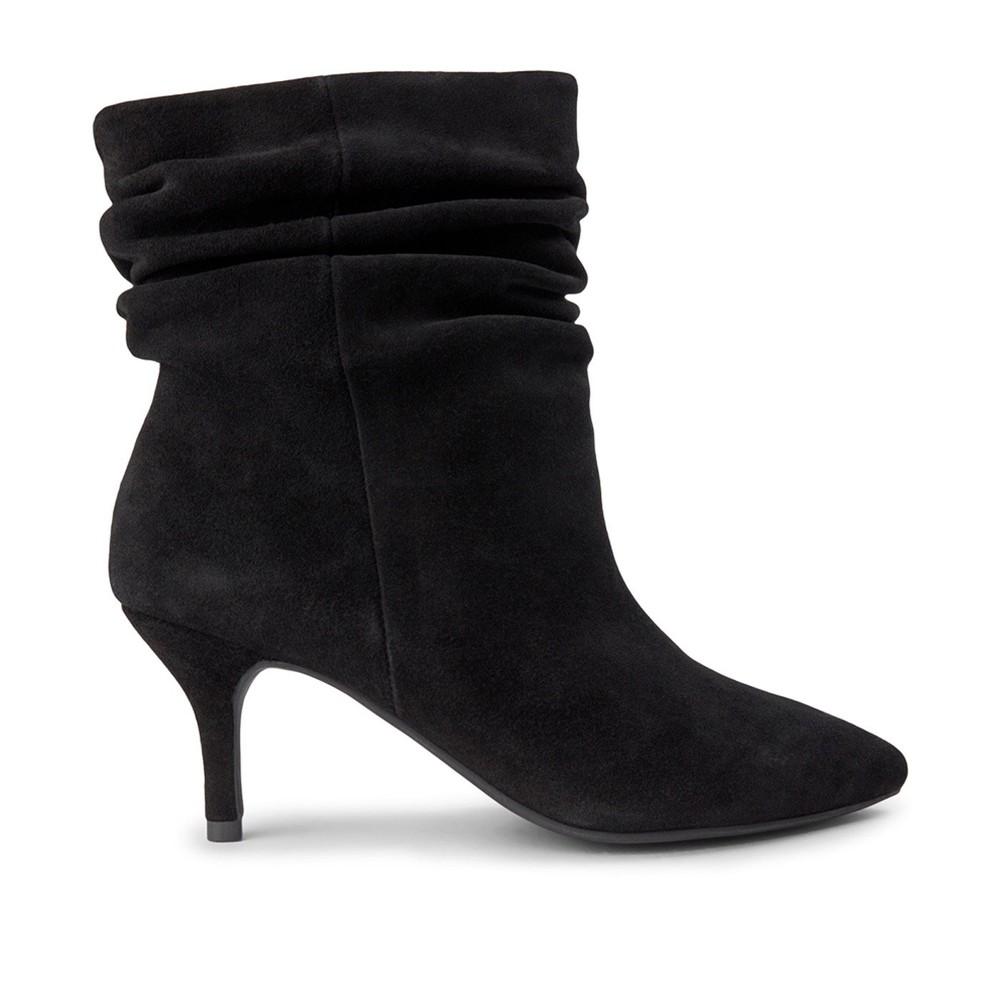 Shoe The Bear Agnete Slouchy Boot Black