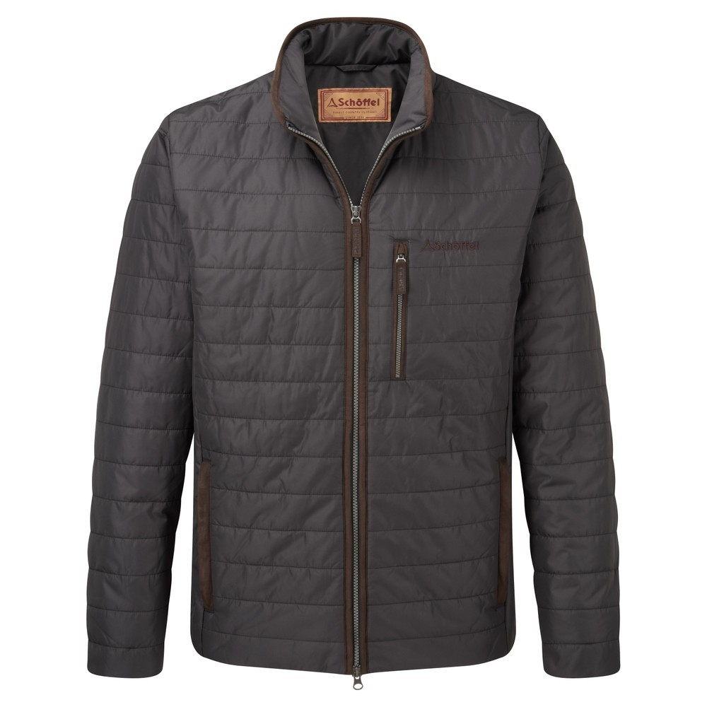 Schoffel Country Carron Coat Charcoal