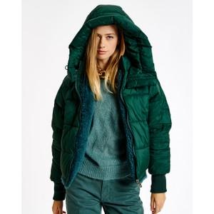 Abrasion Reversible Jacket Quartz Blue