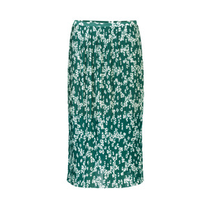 Samsoe Samsoe Cathy Pleated Floral Skirt Daisy