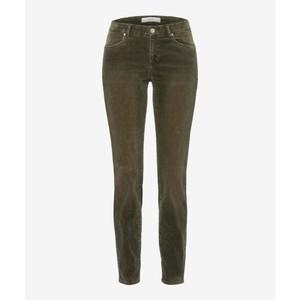 Ana Skinny Cord Trouser Olive