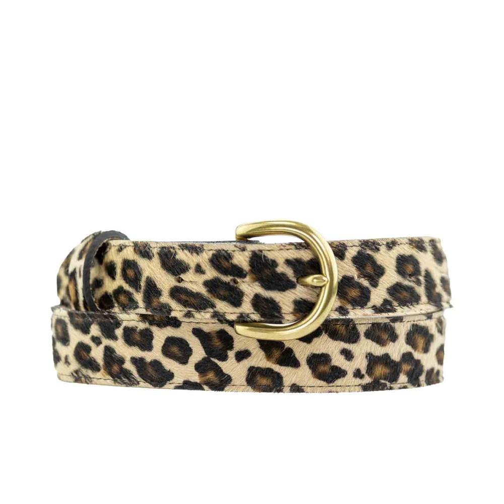 Peachy Belts Leopard Print Belt Leopard
