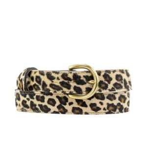 Leopard Print Belt Leopard