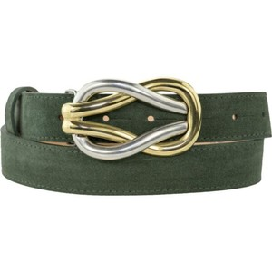 Peachy Belts Reef Knot Buckle Gold/Silver