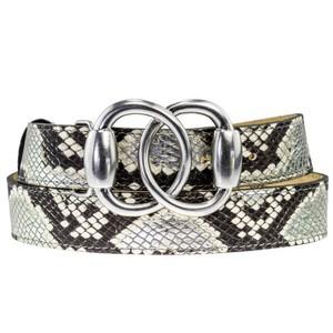 Peachy Belts Baby Silver Bit Buckle Silver