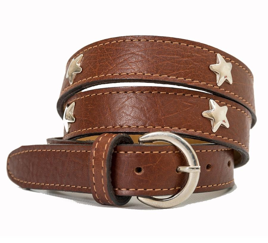 Pioneros Star Belt Brown