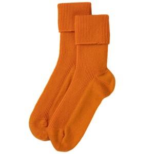 Rosie Sugden Ladies Cashmere Socks in Orange