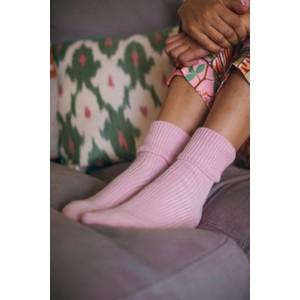 Rosie Sugden Ladies Cashmere Socks Rose Pink