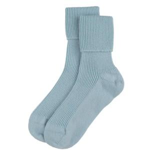 Rosie Sugden Ladies Cashmere Socks in Cove Blue