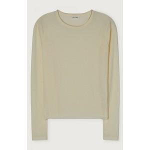 Togow Long Sleeve Crew Neck T-shirt Ecru