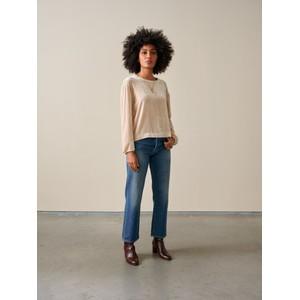 Bellerose Adil Velvet Sweatshirt Sugarcane