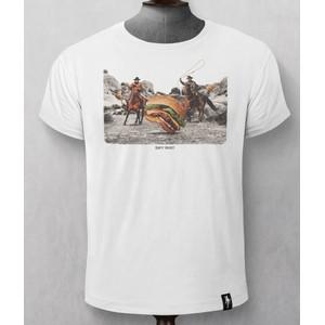 Burger Herders T Shirt White