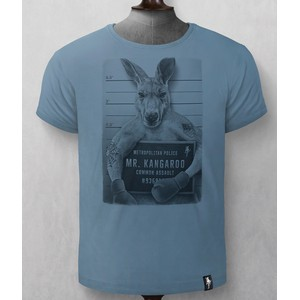 Mr Kangaroo T Shirt Noble Blue