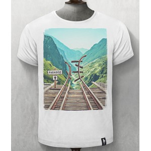 Paradise Lost T Shirt Vintage White