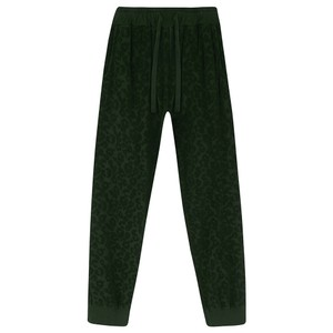 Leopard Burnout Terry Jogger Army