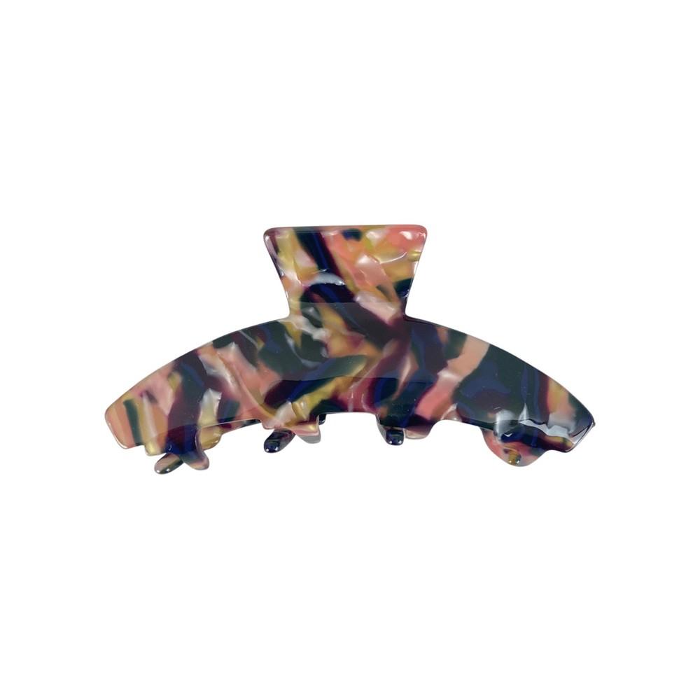 Black Colour Aubree Hair Claw Multicolour