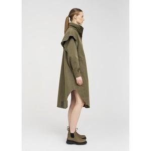 BRGN Tyfon Coat Green Tweed