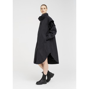 BRGN Tyfon Coat Black Tweed