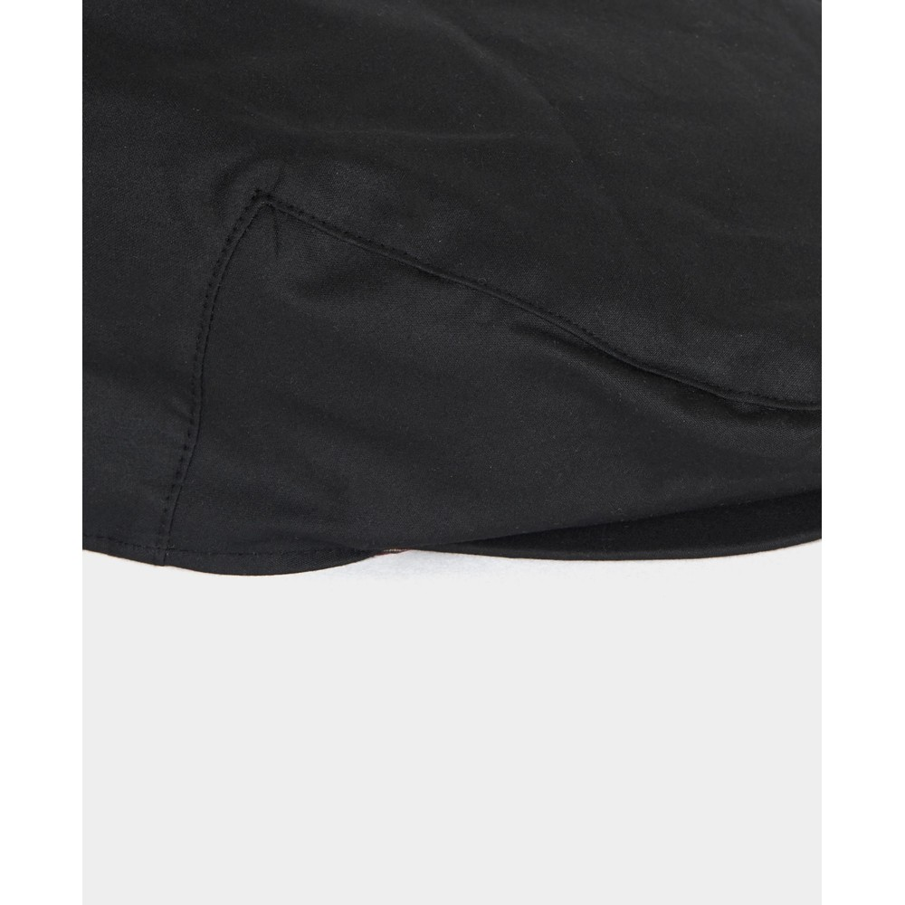 Barbour Wax Cap Black/Winter Red