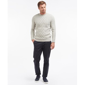 Barbour Chunky Cable Crew Fog