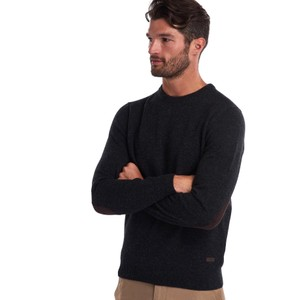 Patch Crew Jumper Charcoal