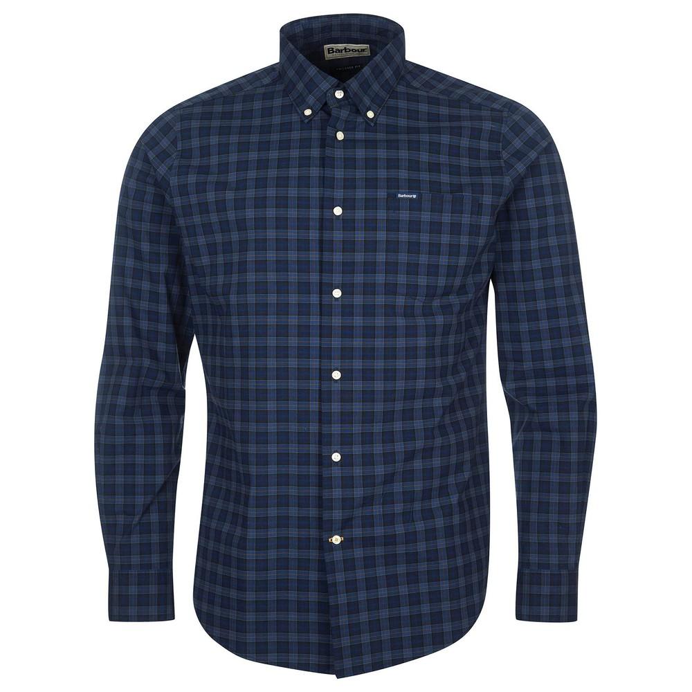 Barbour Lomond Tailored Shirt Midnight Tartan