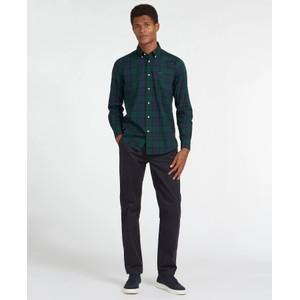 Barbour Wetherham Tailored Shirt Midnight Tartan