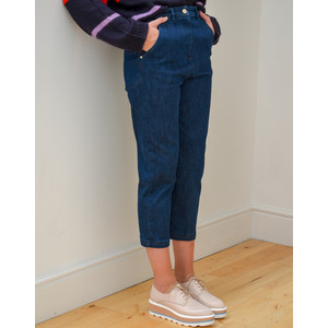 Cargo Stretch Jeans Blue Denim