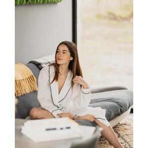 Breathe Organic Cotton Robe White