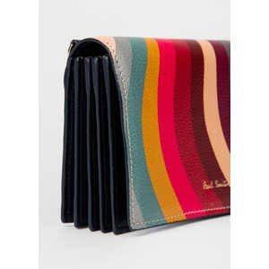 Paul Smith Accessories Swirl Purse On Strap Multicolour