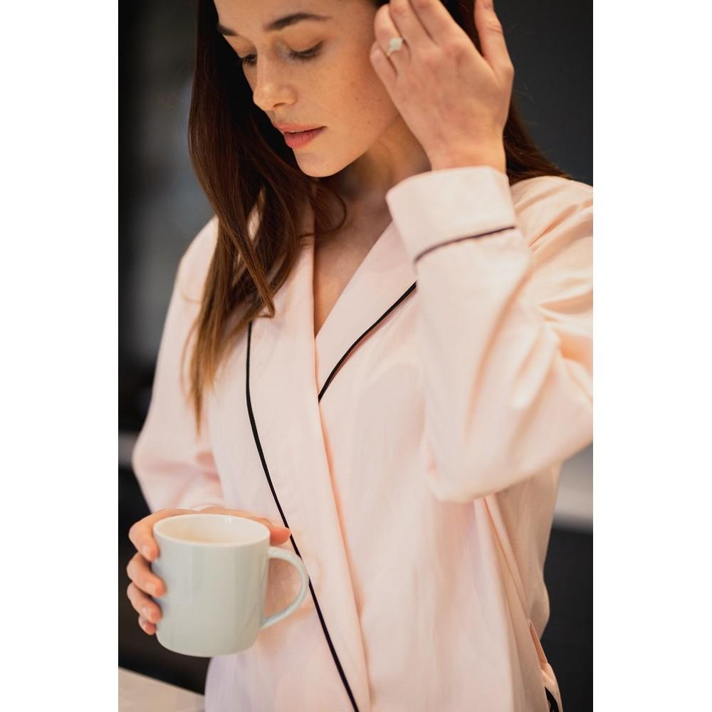 Breathe Organic Cotton Robe Pink