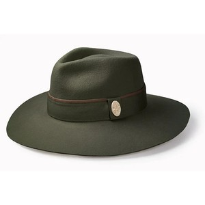 The Oxley Fedora Olive Green