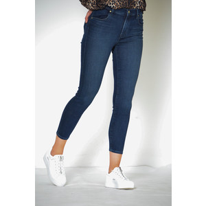 Alana Cropped Skinny High Rise Jean Fix Dark Denim