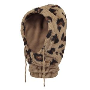 Eliess Leopard Hood Brown