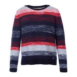 Barbour Rhossili Knit Navy/Red