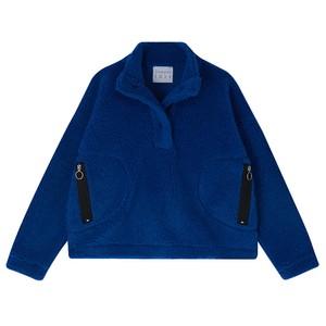 Fleece Pullover Blue