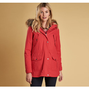 Stronsay Jacket W/Hood Reef Red