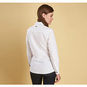 Barbour Victoria Shirt Liberty Print White